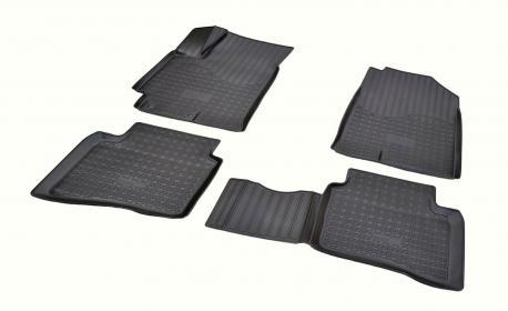 Коврики в салон Hyundai Solaris 3D 2017- NPA11-C31-380