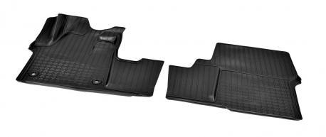 Коврики в салон передние 3D Peugeot Traveller, Citroen SpaceTourer 2018- NPA10-C64-900
