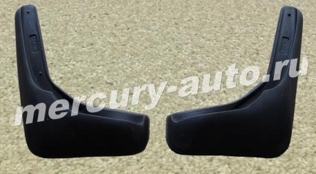 Брызговики для Nissan Sentra B17 седан задние 2014-2018 NPL-Br-61-63B
