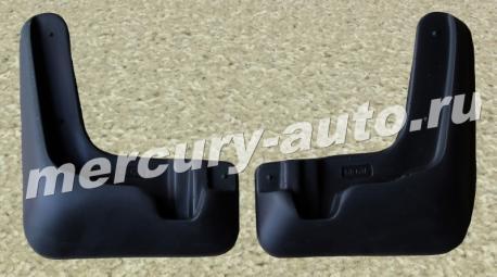 Брызговики для Nissan Sentra (B17) SD передние 2014-2018 NPL-Br-61-63F