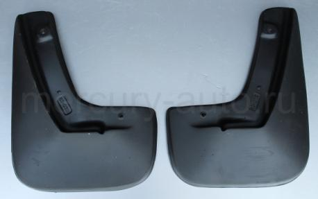 Брызговики для Opel Astra H седан без локера задние 2007-2012 NPL-Br-63-07B