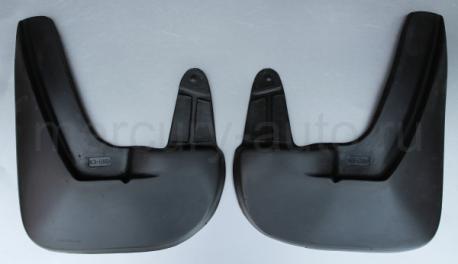 Брызговики для Opel Astra H седан с локером задние 2007-2012 NPL-Br-63-08B