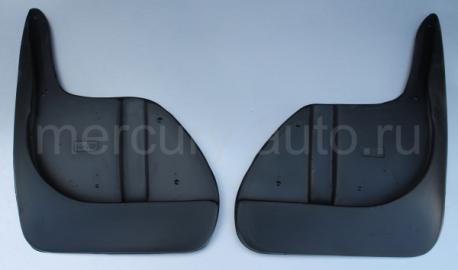 Брызговики для Peugeot 408 передние 2013- NPL-Br-64-40F