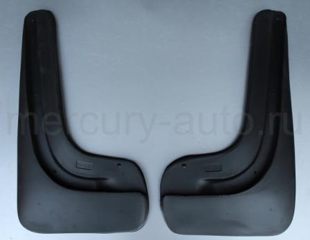 Брызговики для Peugeot 408 задние 2013- NPL-Br-64-40B