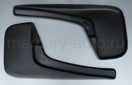 Брызговики для Peugeot Boxer с расширителями арок передние 2006-