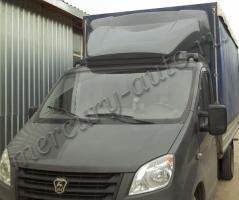 Обтекатель (спойлер) Газель Next высота фургона 1,8 метра серый
