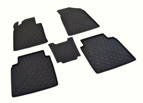 Коврики в салон литьевые для Kia Optima JF 2016-, Hyundai Sonata 2017-2019