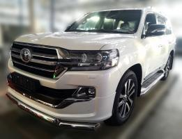 Toyota Land Cruiser LC 200 Executive Lounge Защита порогов D 50,8 2018-