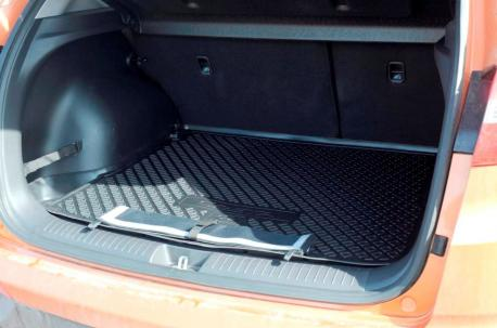 Коврик багажника Mazda CX-5 с защитным фартуком 2017- | mercury-auto.ru