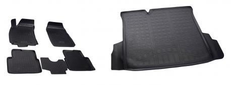 Коврики в салон и багажник CHEVROLET Cobalt 2013-