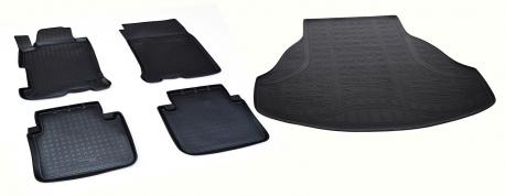 Коврики в салон и багажник HONDA Accord IX 2013-
