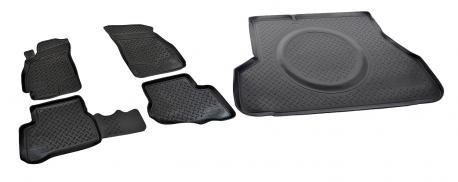 Коврики в салон и багажник Hyundai Accent 2000-2011