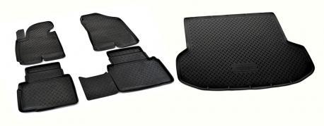 Коврики в салон и багажник Hyundai ix35 2010-2015