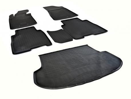 Коврики в салон и багажник KIA Sorento 2012-2015
