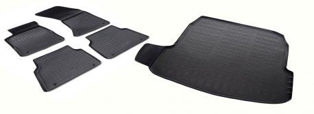 Коврики в салон и багажник AUDI A8 2010-2017