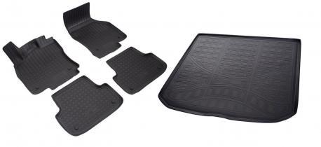 Коврики в салон и багажник AUDI A3 8V, 8VA 2012-