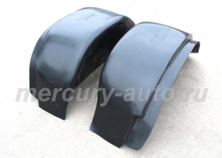 Подкрылки задние двухскатные FORD TRANSIT 2000-2006