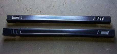 Декоративные пластиковые пороги ВАЗ-2101-2107 с сеткой
