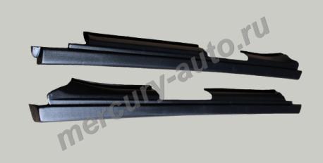 Декоративные пластиковые пороги ВАЗ-2110