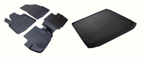 Коврики в салон и багажник CITROEN DS5 2012-2015
