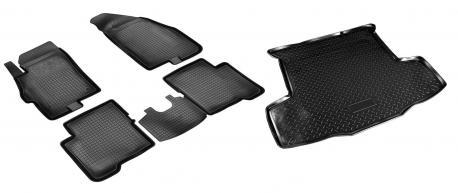 Коврики в салон и багажник FIAT Linea 2007-2015