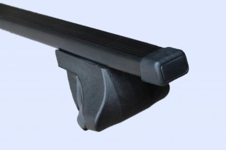 Багажник универсальный на рейлинги прямоугольные дуги 1,2 метра в пластике