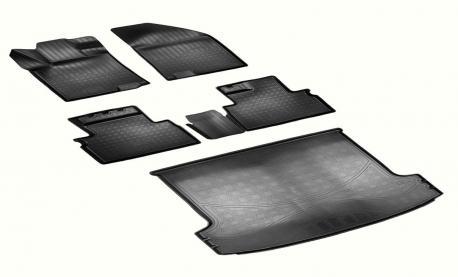 Комплект ковриков в салон и багажник GEELY SX11 2019-
