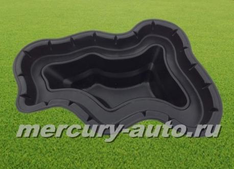 Пластиковый пруд №4/2 (V-130л 1300х1100х350)