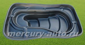 Пластиковый пруд №6 (V-420л 2000x1130x440)