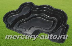 Пластиковый пруд №11 (V-900л 2500х1500х600)