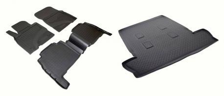 Комплект ковриков LEXUS LX 570 2007-2012