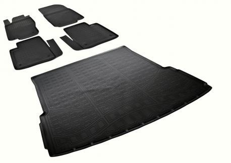 Комплект ковриков MERCEDES-BENZ GL X166 2012-