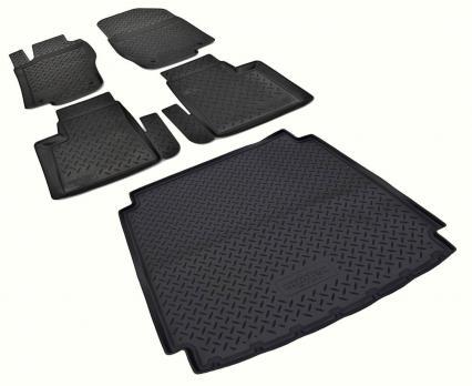 Комплект ковриков MERCEDES-BENZ ML 350 W164 2005-2011