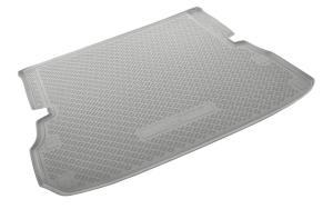 Коврик багажника NISSAN Pathfinder R52 cложенный 3 ряд  2014-